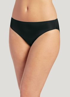 c43432cdc310 Jockey No Panty Line Promise Tactel Bikini, black, 10. Bikini UnderwearBlack  BikiniLycra SpandexBlack 7. Jockey Women's ...