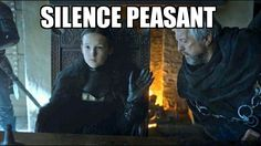 Game of Thrones - Lady Lyanna Mormont. 10 year old badass extraordinaire.