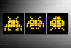 space invaders panel - Buscar con Google
