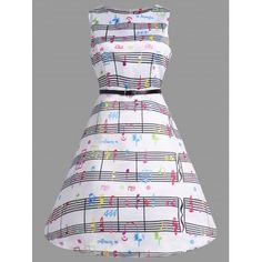 GET $50 NOW | Join Dresslily: Get YOUR $50 NOW!https://m.dresslily.com/music-note-print-swing-party-dress-product2155955.html?seid=rr983QtQAS19S22MC1fdr9ndpS