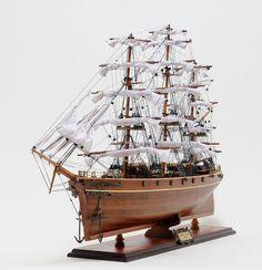 "CaptJimsCargo - Cutty Sark Wooden Model Tall Clipper Ship Sailboat 34"", (http://www.captjimscargo.com/model-tall-ships/clipper-ships/cutty-sark-wooden-model-tall-clipper-ship-sailboat-34/) The most famous of all China Clippers!"