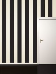 Black Stripe Wall Decal - Decor - Wall - Dorm + Apt