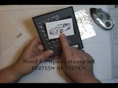 Easy Faux Metal Texture Embossing Quick Tip