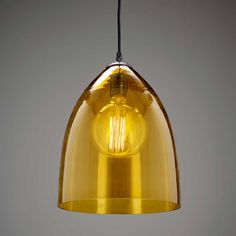 Hand blown glass shade with antique bronze metalwork.Complete with 1500mm of black textile cable.