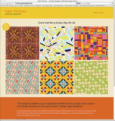 Surface design site! by ktyazoo, via Flickr  This designer is my new favorite:)