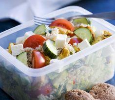 Lounassalaatti, resepti – Ruoka.fi Recipes, Anna, Food, Rezepte, Essen, Recipe, Yemek, Cooking Recipes