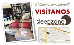 ¿Aún no conoces nuestra tienda? La primera tienda de #SleepZone se encuentra en San Fernando de #Maspalomas, el la Zona Comercial Abierta de San Fernando (Avda.de Gáldar, 82) Visítanos a partir de las 10:00 y apúntate a la #SleepZoneManía