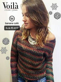 Fio Banana Café #lojavoila #look #winter #cool #style