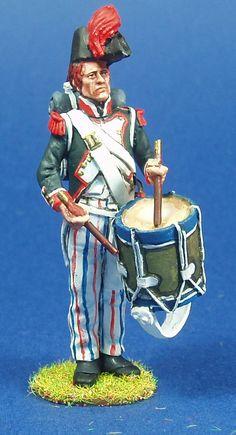 NP 178 GRANADEROS DE LINEA 1804 TAMBOR Lead Soldiers, Napoleonic Wars, Figure Model, Troops, Miniatures, Military, French, Models, History