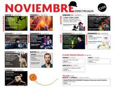 3er Festival Internacional Clown - Programa