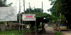 Crossing the Border Between Costa Rica and Nicaragua