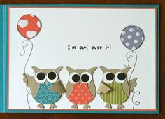 Owl Birthday inside by Kerry Bunting