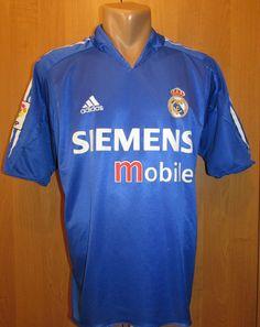 862e68ceb50 Real Madrid 2004 2005 third football shirt by Adidas RMFC Spain jersey  camiseta soccer HalaMadrid