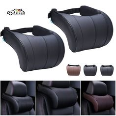 Cheap pad 3, Buy Quality pad pad directly from China padded cushions Suppliers: 1PCS PU Leather Auto Car Neck Pillow Memory Foam Pillows Neck Rest Seat Headrest Cushion Pad 3 Colors High Quality #CheapMemoryFoam