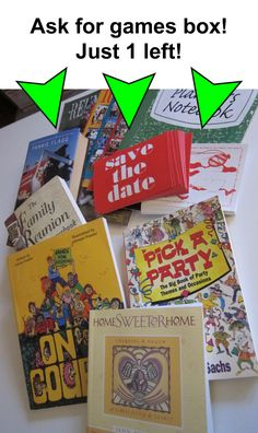 Little Reunion Libraries Games Box, Reunions, Over The Years, Dating, Play, How To Plan, Books, Quotes, Libros