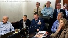 Pete Souza—The White House May President Barack Obama and his national security team watch the Osama bin Laden mission in the White House Situation Room. Please note: a classified document seen in this photograph has been obscured. Barack Obama, Seal Team 6, Jesse Ventura, Presidente Obama, Obama And Biden, Joe Biden, John Kerry, Powerful Images, Powerful Women
