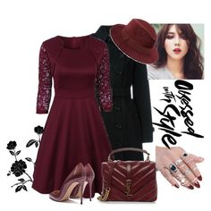 """Lace Dresess-Rosegal"" by dijana1786 ❤ liked on Polyvore featuring Burberry, Yves Saint Laurent, Saks Fifth Avenue and vintage Sexy Gifts, Saks Fifth Avenue, Yves Saint Laurent, Burberry, My Style, Lace, Polyvore, Vintage, Fashion"