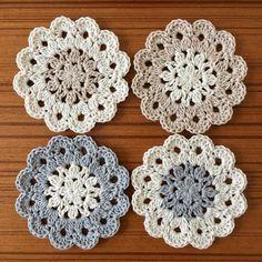 Crochet Doily Purse, soft cotton crocheted doilies, fabric roses, shabby and chic Crochet Shawl Diagram, Crochet Coaster Pattern, Crochet Doily Patterns, Crochet Motif, Crochet Doilies, Crochet Flowers, Free Crochet, Crochet Home, Crochet Gifts