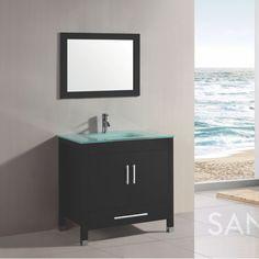 "Santorini Bathroom Vanity Set 36"" - http://dougstubs.com/shop/santorini-bathroom-vanity-set-36/"