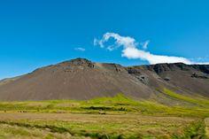 Bergkette im Westen Islands