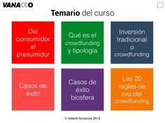 Del consumidor al presumidor Qué es el crowdfunding y…