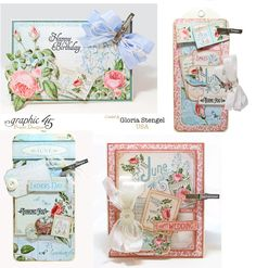 Scraps of Life: Graphic 45 - June Time to Flourish Project Sheet