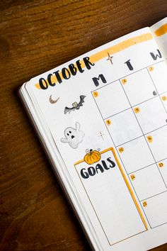 My October Bullet Journal Setup - Plan with me! - tea & twigs My October Bullet Journal Setup – Plan with me!