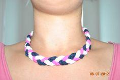 Diy Necklace, Crochet Necklace, Jewelry, Fashion, Moda, Jewlery, Jewerly, Fashion Styles, Schmuck