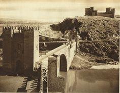 1914-1919 Spain photos: Alacantra bridge and St Bercado castle