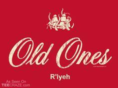 The Old Ones Rlyeh T-Shirt - http://teecraze.com/the-old-ones-rlyeh-t-shirt/ -  Designed by T-Shirt Bordello