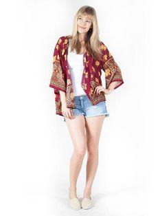 cf1e09bb4 Lizzie Elephant Kimono Cardigan. Elephant PantsSave The ElephantsKimono ...