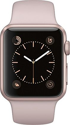 Buy Apple Watch Series 1 38mm Smartwatch (Rose Gold Aluminum Case, Pink Sand Sport Band) NEW for 242.99 USD | Reusell