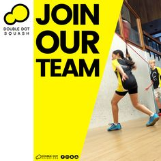Become a Double Dot Squash Ambassador, Coach, or Athlete. Join our team! - Please get in touch for further details on joining our team - info@doubledotsquash.com - #doubledotsquash #squash #brownsbayracquetsclub #hernebayracketsclub #brownsbay #hernebay #squashauckland #squashnz #squashnewzealand #squashcoaching #squashcoach #juniorsquash #psaworldtour #squashclub #squashcourt #squashies #squashplayer #squashgoals #squashlife #squashing #squashlife #squashaddict #squashing #juniorsquash Squash Club, Train Group, Double Dot, Join Our Team, Ways Of Learning, Best Player, Looking Forward To Seeing, Total Body, How To Introduce Yourself