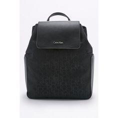Calvin Klein Nina Black Backpack ($235) ❤ liked on Polyvore featuring bags, backpacks, black, calvin klein bags, rucksack bags, draw string backpack, drawstring backpack bags and drawstring backpacks