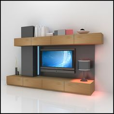 Shelve, Surprising Contemporary Wall Units Pics With Apartment Living Room Design And Built In Shelves Lighting Also Modern Sofa Set : Contemporary Wall Units Entertainment Centers Ideas For Apartment Living Room