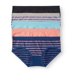 4a82a1845e3f No Boundaries - Juniors Seamless Hipster Panty, 5 pack - Walmart.com