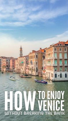 How to enjoy Venice without breaking the bank - Non Stop Destination