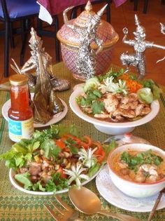 Thai food thai lovable-food , it sounds appealing. #thai meals