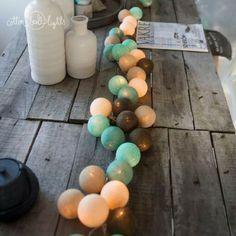 Cotton Ball Lights Mentás csoki