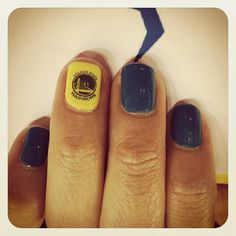 @alana_vmsl: #NailsDid #Warriors #Dubs #YouKnowWhatItIs