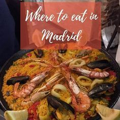 With so many restaurants, it is difficult to decide where to eat. Here are some places you must visit when in Madrid - link in bio #Madrid #visitmadrid #restaurants #wheretoeat #food #foodstagram #churros #paella #chocolateriasangines #lamiventa #elviajero #tabernadelchato #mercadodesanmiguel #travel #travelblogger #femaletraveler #femaletravelblogger #wanderlust #ilovefood #exploring #eating #exploringthecity #spain #girlstravel