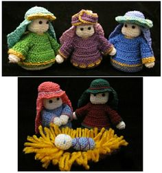 1000+ images about CROCHET creches on Pinterest Nativity ...