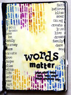 Make art journal page of favorite words art journals газета, Journal Prompts, Art Journal Pages, Art Journals, Planning School, Art Journal Inspiration, Journal Ideas, Creative Journal, Creative Writing, Creative Art