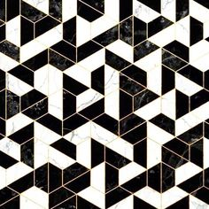 Black And White Marble Hexagonal Pattern Art Printblack Tile Floor Wall Color Tiles Texture Sol, Pattern Texture, Floor Texture, Tiles Texture, Hexagon Pattern, Marble Pattern, Pattern Art, Floor Patterns, Tile Patterns