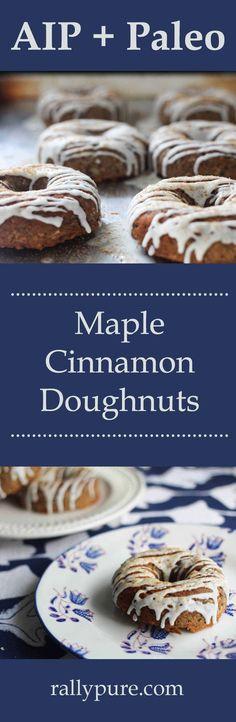 maple cinnamon doughnuts