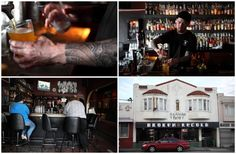 Broken Record Bar & Grill. Just saw on Diners, Drive-ins, & Dives. Oxtail Polenta & Duck Confit Potato Skins....I'm in!   1166 Geneva Street - South San Francisco  near Daly City. N 280 to exit 51 Ocean Ave & Geneva St.     (415) 963-1713    Bar Hours: Sun-Th 5PM-12AM  Fri-Sat 5PM-2AM  Kitchen Hours: Mon-Sat 6PM-11PM  Sun 6PM-10PM  www.yelp.com/biz/broken-record-san-francisco Duck Confit, South San Francisco, Daly City, Best Dentist, Dive Bar, Potato Skins, Bar Grill, Places To Eat