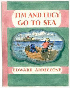 Tim & Lucy go to Sea - Edward Ardizzone, a wonderful illustrator