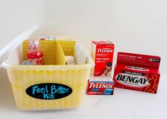 DIY First Aid and Pain Relief Kit