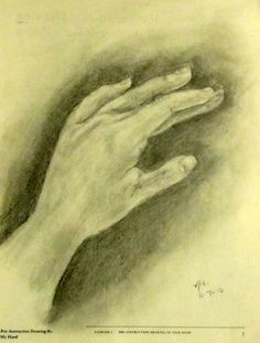 Workbook Exercise: Draw your own hand