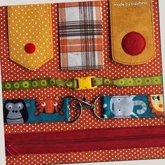 Quiet Book Templates, Quiet Book Patterns, Quiet Time Activities, Infant Activities, Baby Sewing Projects, Book Projects, Diy Quiet Books, Fidget Blankets, Fidget Quilt